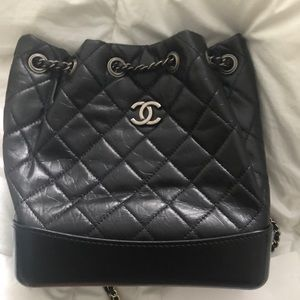 dff3e1fa117e Gabrielle Chanel backpack boho quilted leather bag